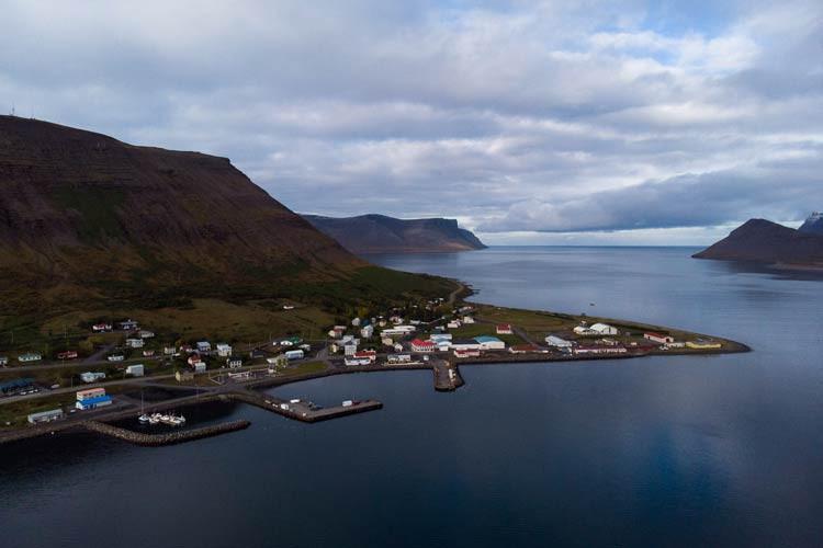 Þingeyri, Haukur Sigurðsson, Blábankinn, landsbyggðin, úr vör, vefrit