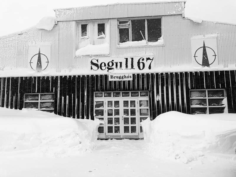 Segull 67, Siglufjörður, brugghús, úr vör, vefrit