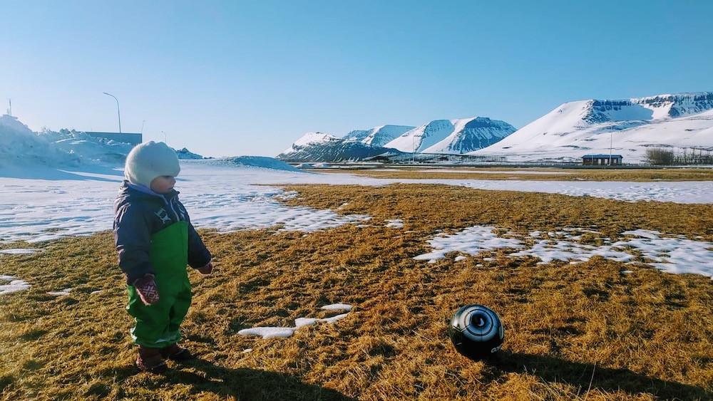 Fótbolti, knattspyrna, Arnhildur Lilý Karlsdóttir, landsbyggðin, Þingeyri, Ísafjörður, Bolungarvík, Vestfirðir, úr vör, vefrit