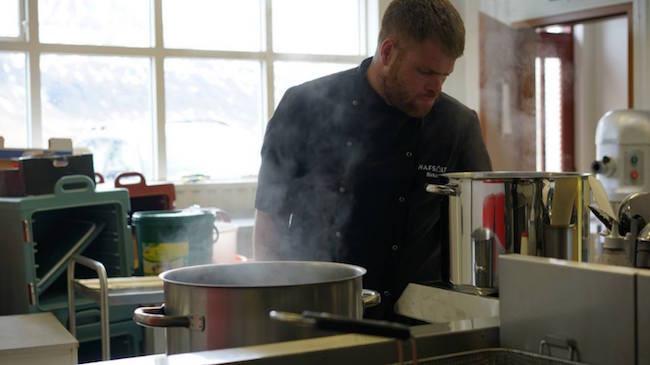 Hafsalt, salt, Birkir Helgason, frumkvöðlastarf, Djúpivogur, Austurland, landsbyggðin, úr vör, vefrit