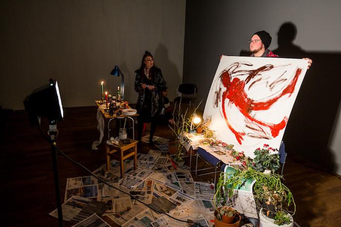 Hekla Björt Helgadóttir, gjörningur, A! Gjörningahátíð, Akureyri, norðurland, landsbyggðin, list, úr vör, vefrit