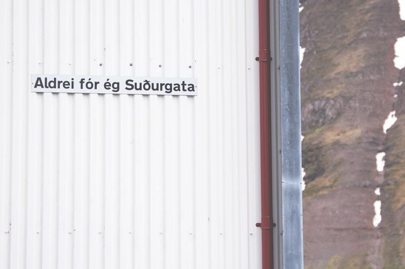 Aldrei fór ég suður, Ísafjörður, Julie Gasiglia, úr vör, vefrit