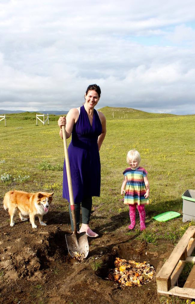 Jarðgerð, moltugerð, Suðurland, Lilja Magnúsdóttir, úr vör, vefrit