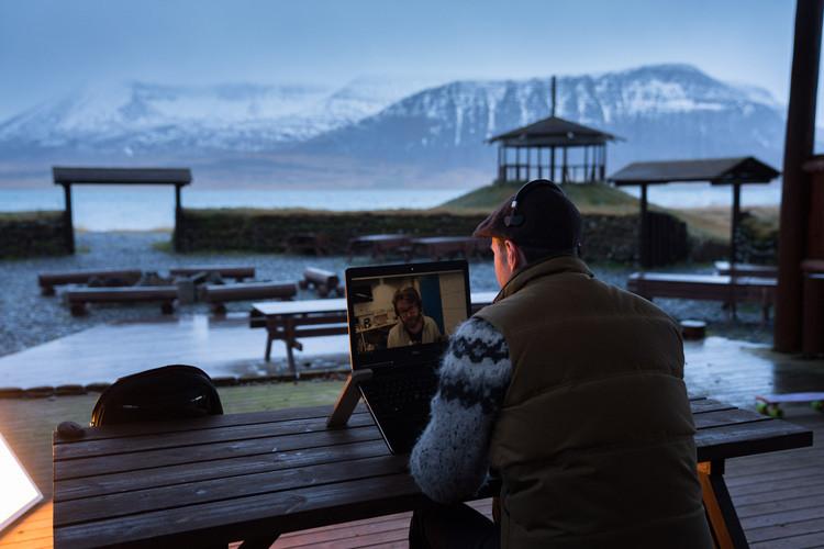 Þingeyri, Haukur Sigurðsson, Dýrafjörður, Blábankinn, úr vör, vefrit, Arnhildur Lilý Karlsdóttir