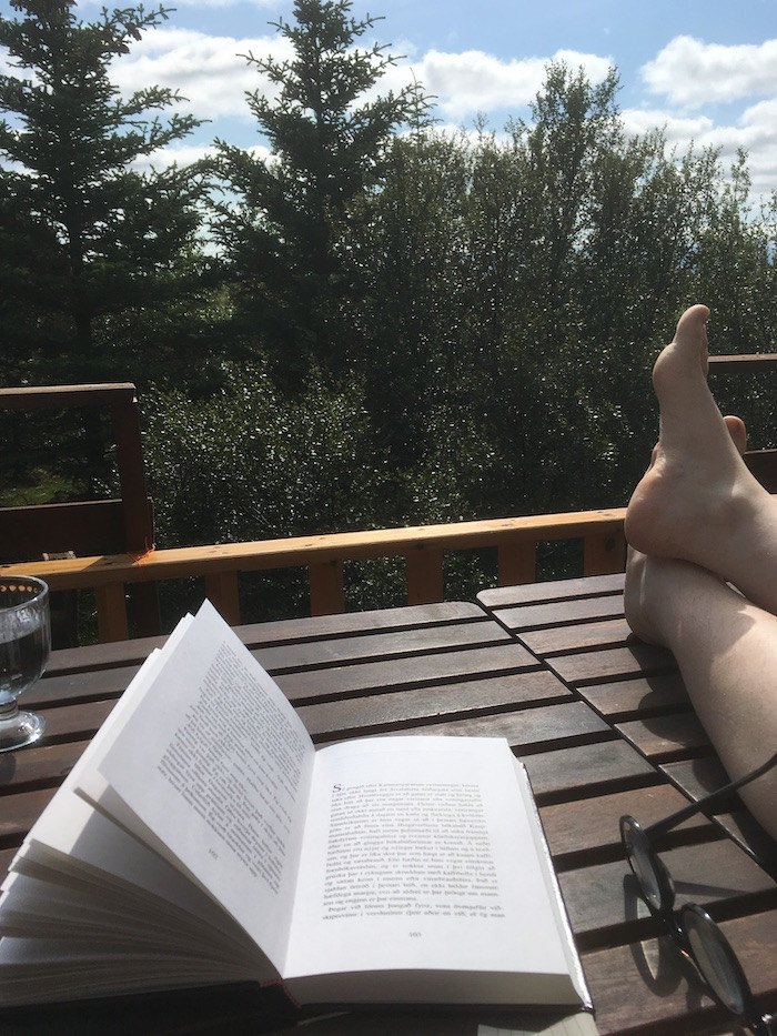 Ellen Wild, Icelandic habit, planning, uncertainty, relax, enjoy, habit, freedom, úr vör, vefrit, Aron Ingi Guðmundsson