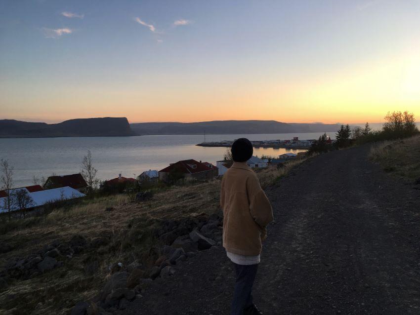 Patreksfjörður, kvöldgnga, landsbyggðin, Vestfirðir, Aron Ingi Guðmundsson, úr vör, vefrit