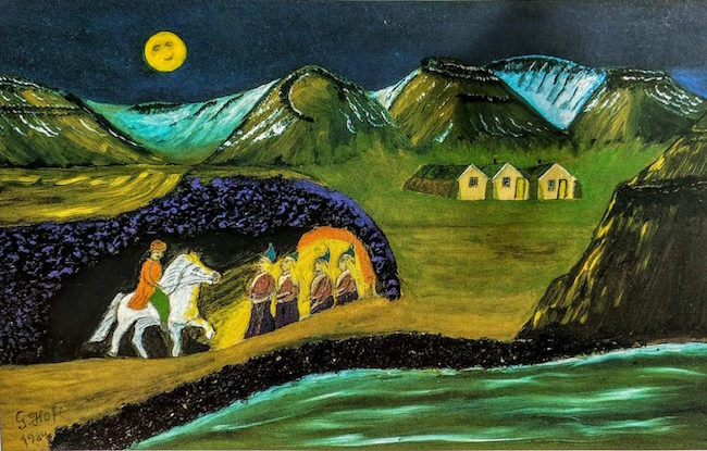 Gunnar frá Hofi, Gunnar Guðmundsson, Dýrafjörður, list á landsbyggð, landsbyggðin, Elfar Logi Hannesson, úr vör, vefrit