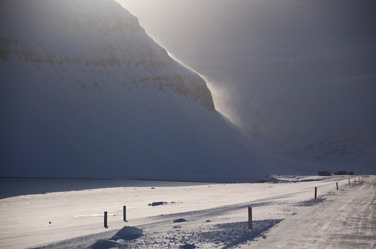 Eiríkur Örn Norðdahl, pistill, aðventan, jól, landsbyggðin, Vestfirðir, Julie Gasiglia, úr vör, vefrit