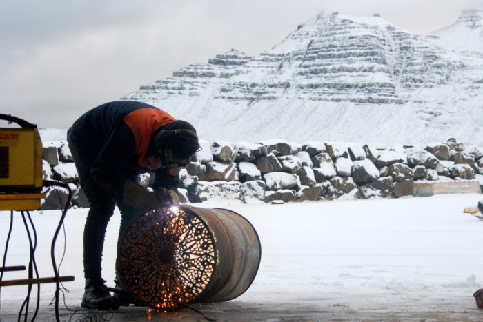 Sköpunarmiðstöðin, Stöðvarfjörður, fish factory, úr vör, vefrit