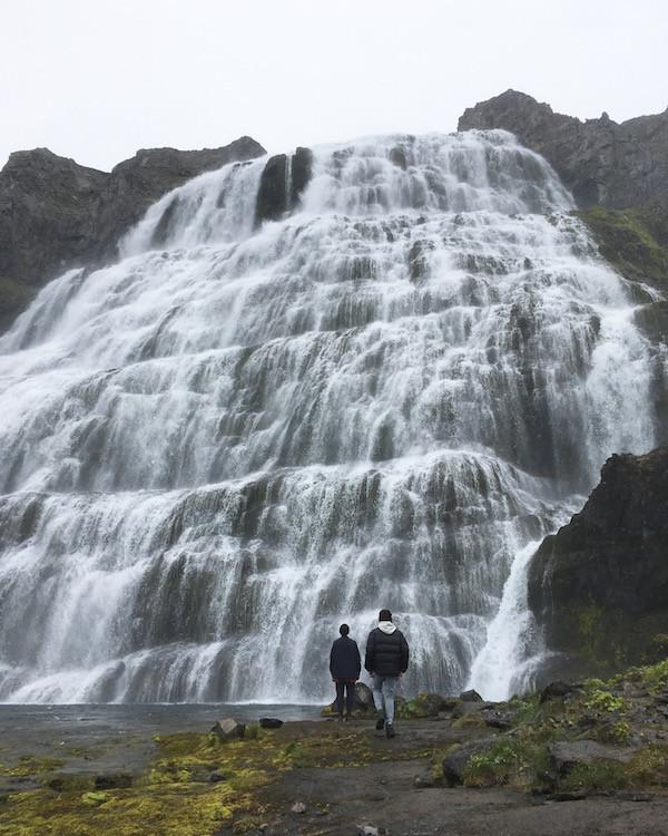 Guðrún Anna Finnbogadóttir, pistill, Dynjandi, Vestfirðir, foss, landsbyggðin, náttúra, náttúrufegurð, úr vör, vefrit, Aron Ingi Guðmundsson