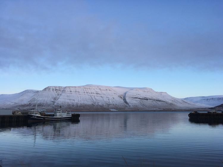 Arnhildur Lilý Karlsdótir, Þingeyri, Vestfirðir, landsbyggðin, pistill, úr vör, vefrit