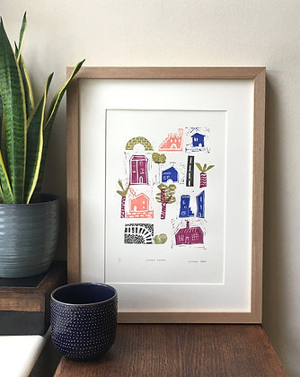 Stamp Town by Hannah Tooke