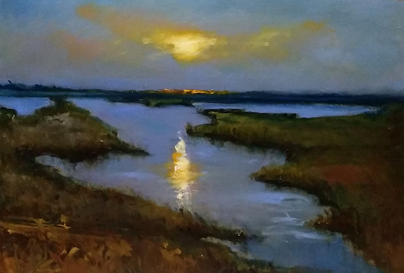 Norfolk Marshes by Mirka McNeill