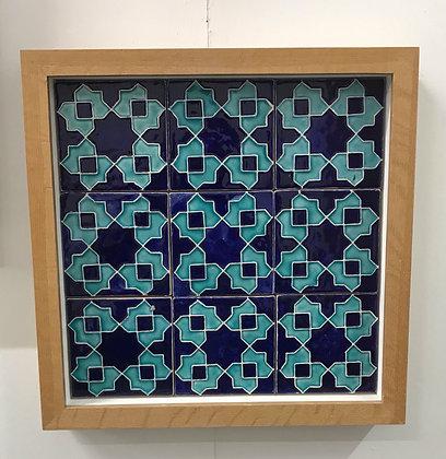 Ceramic Tile Panel by Hajrah Ayub
