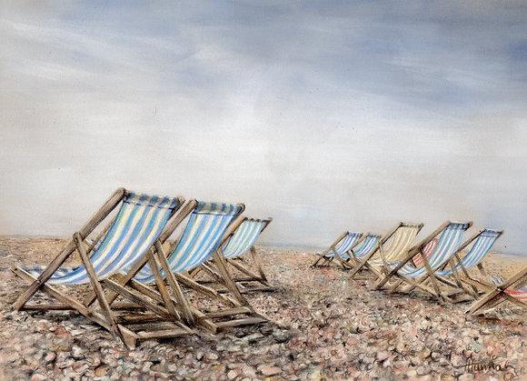 Brighton Beach by Trudy Harman