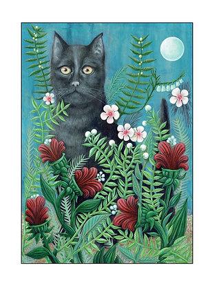 Black Cat by Bev Howe