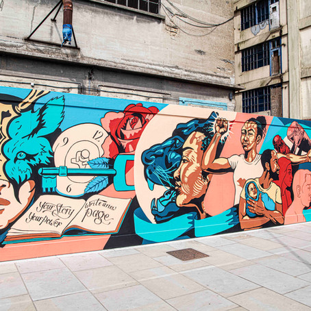 Your Story, Your Power Mural