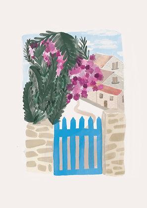 Croatian Garden by Bethany Wallington