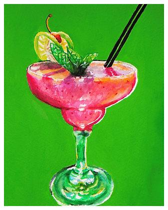 Strawberry Daiquiri by Laura Watson
