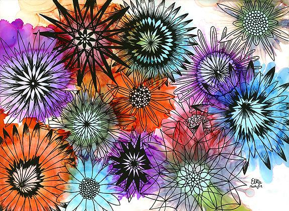 The Flower Meadow by Emma Kerridge