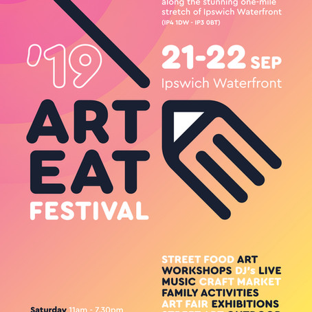 Watch out for the Art Eat taster flyer
