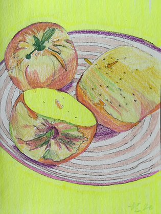 Apples by James Elms