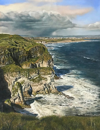 From the Clifftop by T Seals Art