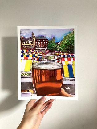 Norwich Beer Market by Laura Watson