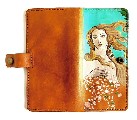 Sandro Botticelli The Birth of Venus Wallet by Hoopoe Design
