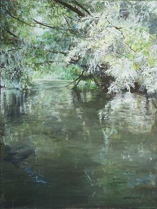 River Trip from Flatford Mill II by Larain Briggs