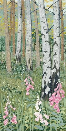 Foxglove Wood by Greta Hansen