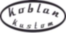 Koblan Kustom logo relic strat relic tele made in Canada