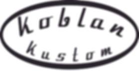 Koblan Kustom logo. Relic strat relic tele made in Canada