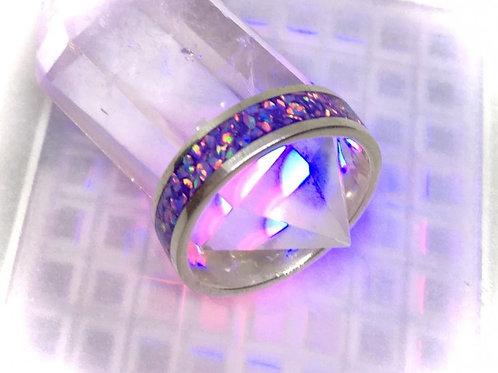 第7チャクラ・紫色・インレイ