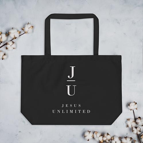 Jesus Unlimited Large organic tote bag