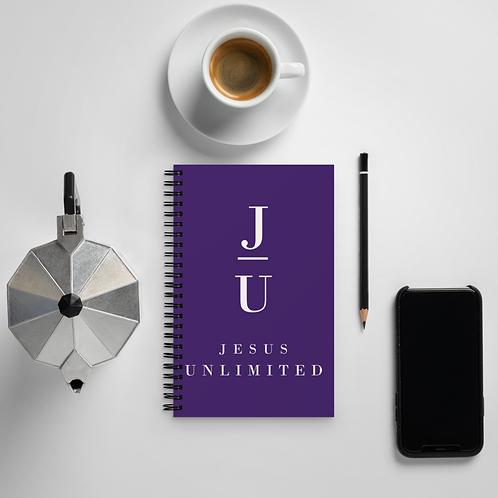 Jesus Unlimited Spiral notebook