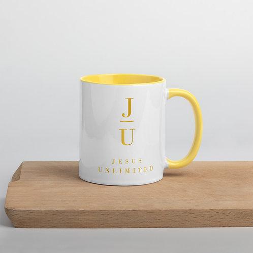 Jesus Unlimited Mug with Color Inside