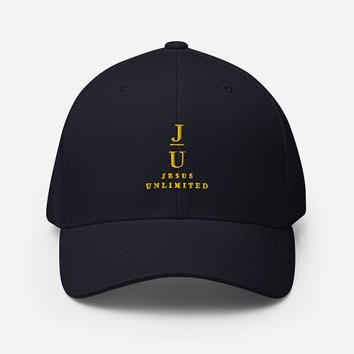 Jesus Unlimited Structured Twill Cap