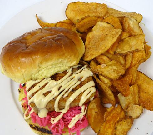 Blackened Tuna Sandwich
