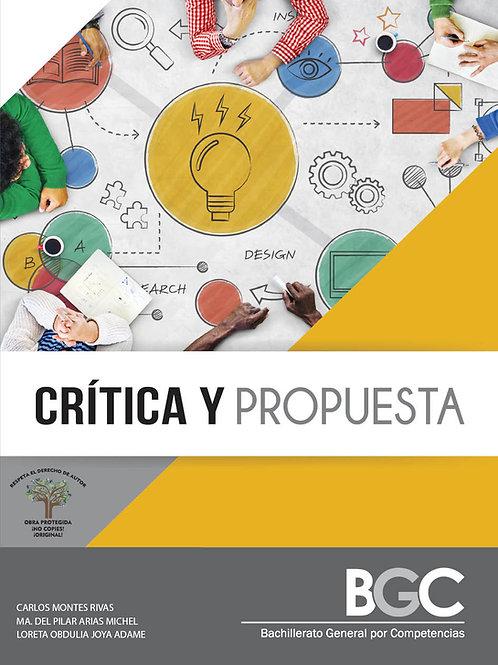 Crítica y Propuesta