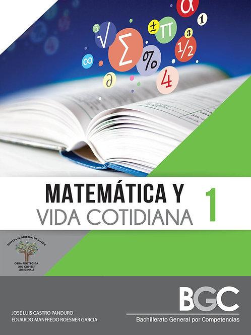 Matemática y vida cotidiana 1