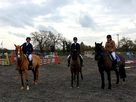 Showjumping at Snowball
