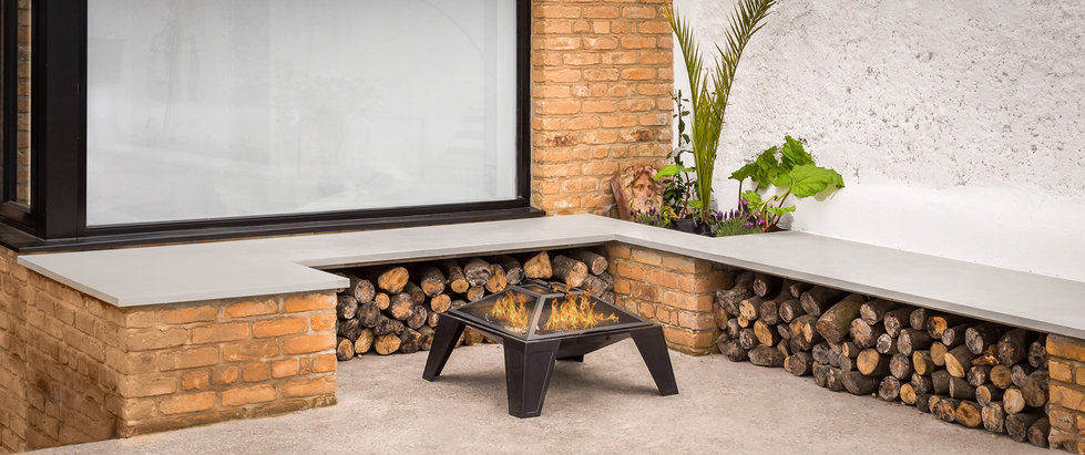 Outdoor Concrete Seating