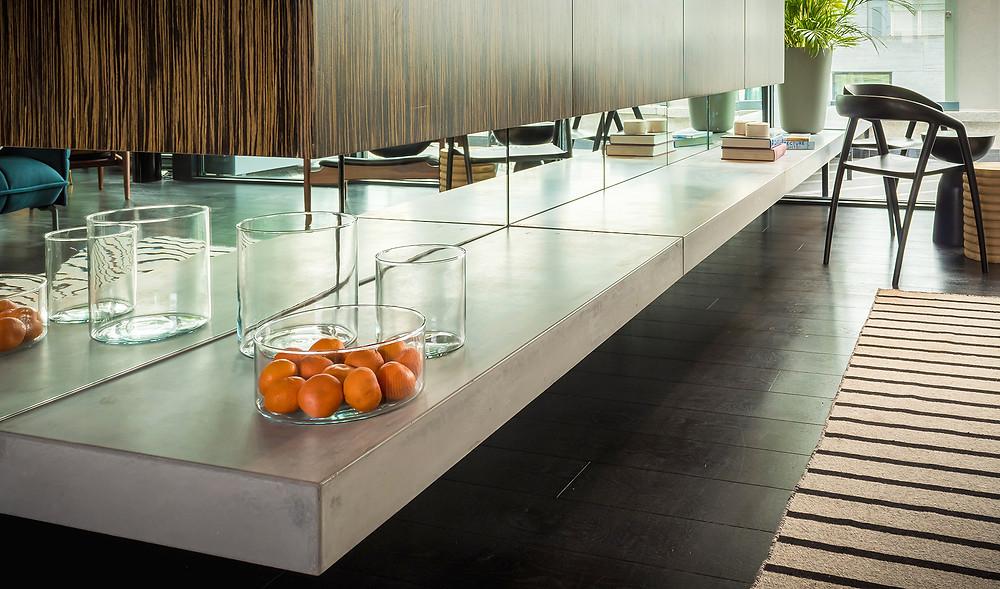 GFRC Polished Concrete by Concrete Design Studios, Dublin, Ireland