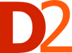 D2 marketing + media logo