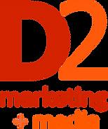 D2 marketing + media logo