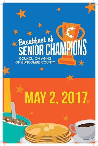 2017 Breakfast of Senior Champions Program
