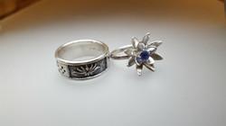 Cheresse and Elias's Wedding Rings