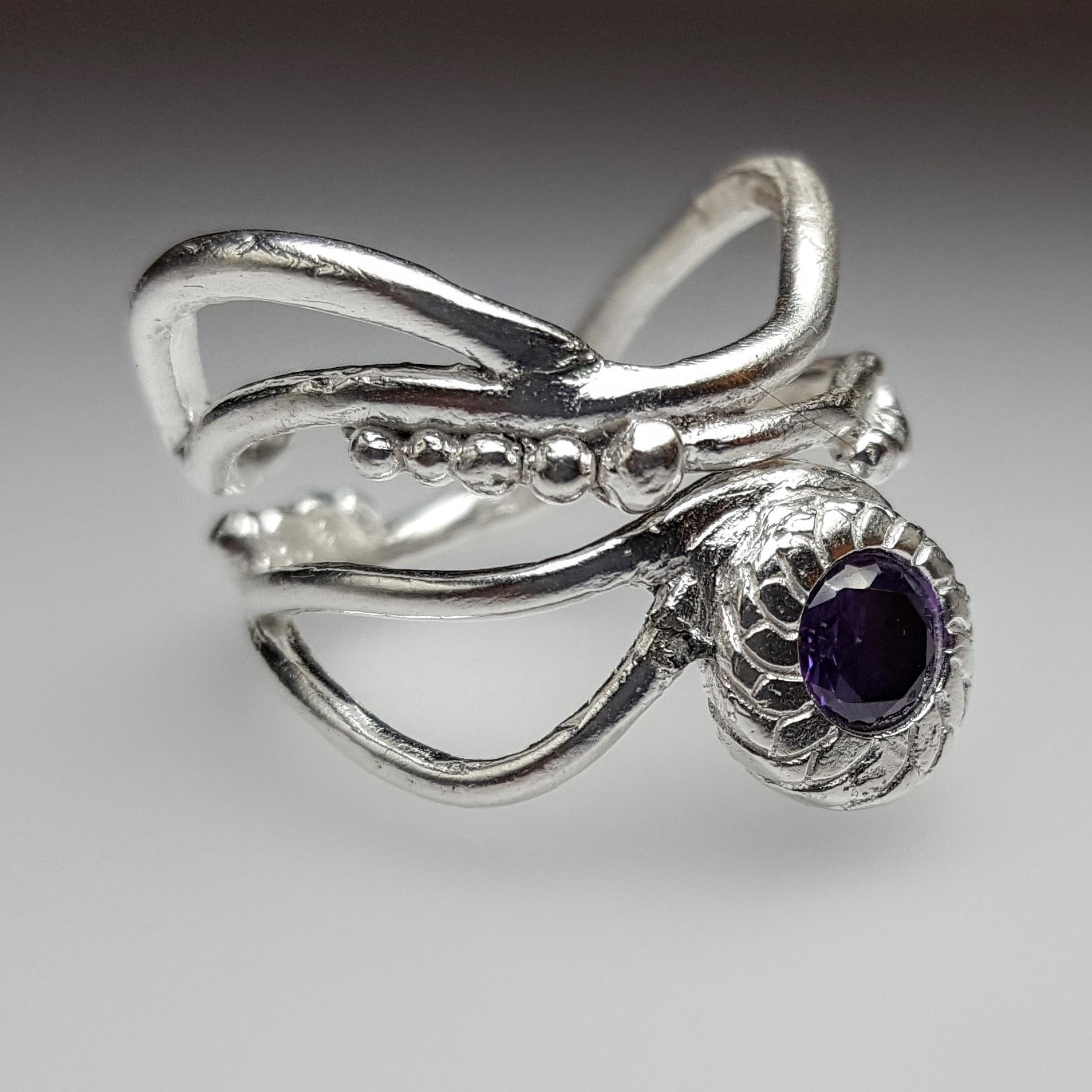 Wrap Around Lisel Ring