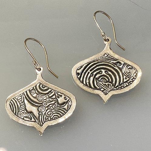 Moorish Framed Earrings